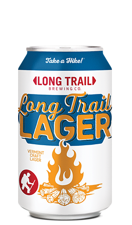 Single Long Trail Lager 12oz can