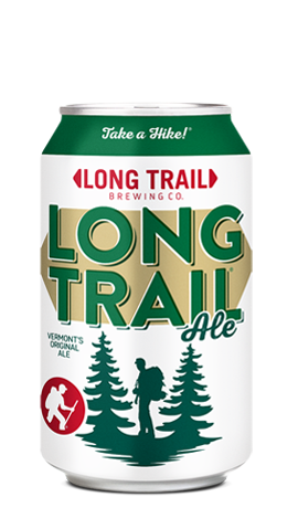 Single can of Long Trail Ale