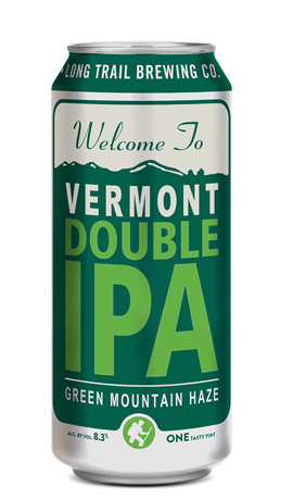 Single 16oz. can of Long Trail Vermont DIPA